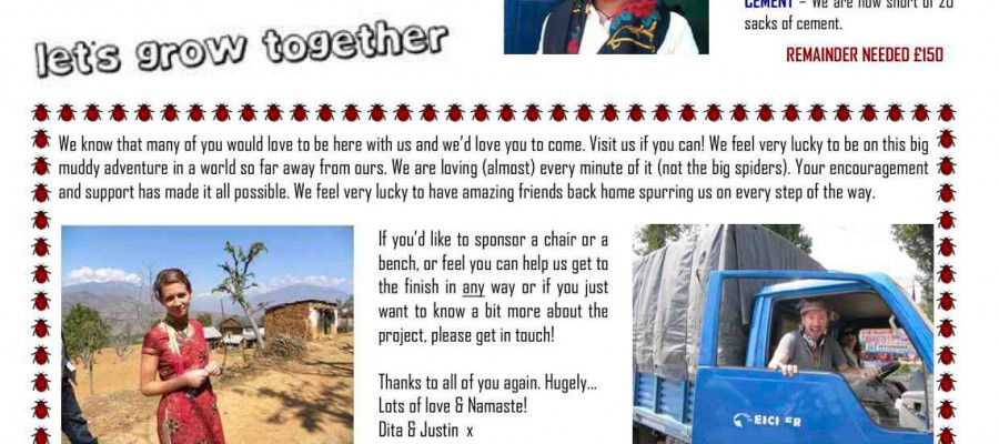 Our first Newsletter!